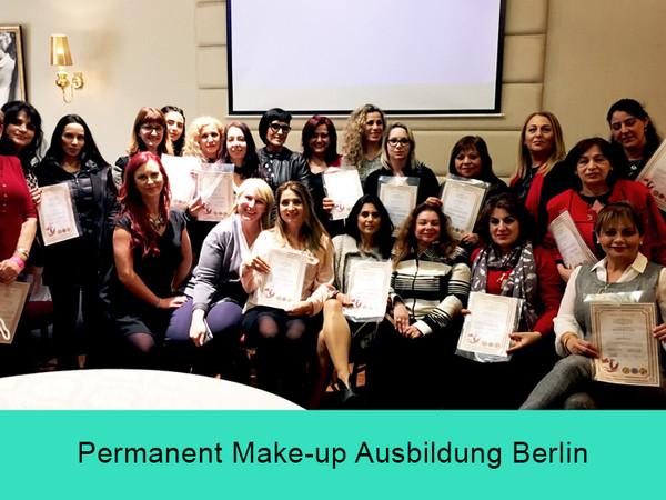 Permanent Make-up Ausbildung Berlin - Masterclass Zertifikate