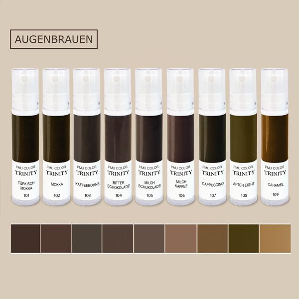 Welche Permanent Make Up Farben sind die besten? Die besten Augenbrauen Permanent Make Up Farben