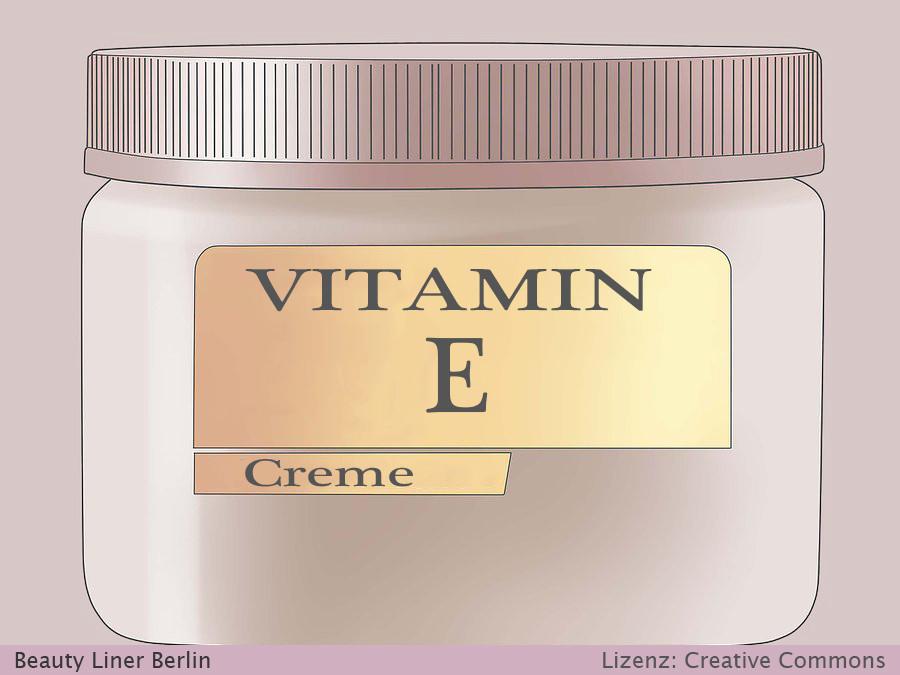 Permanent Make Up Pflege nach Behandlung - Vitamin E Creme - Schritt 2
