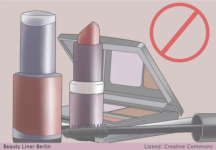 Permanent Make Up Pflege nach Behandlung - schminken nach Behandlung - Schritt 4