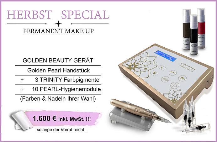 Permanent Make Up Gerät im Komplettpaket - Herbst Special 2018