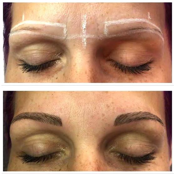 Microblading Pflege nach Augenbrauen Behandlung