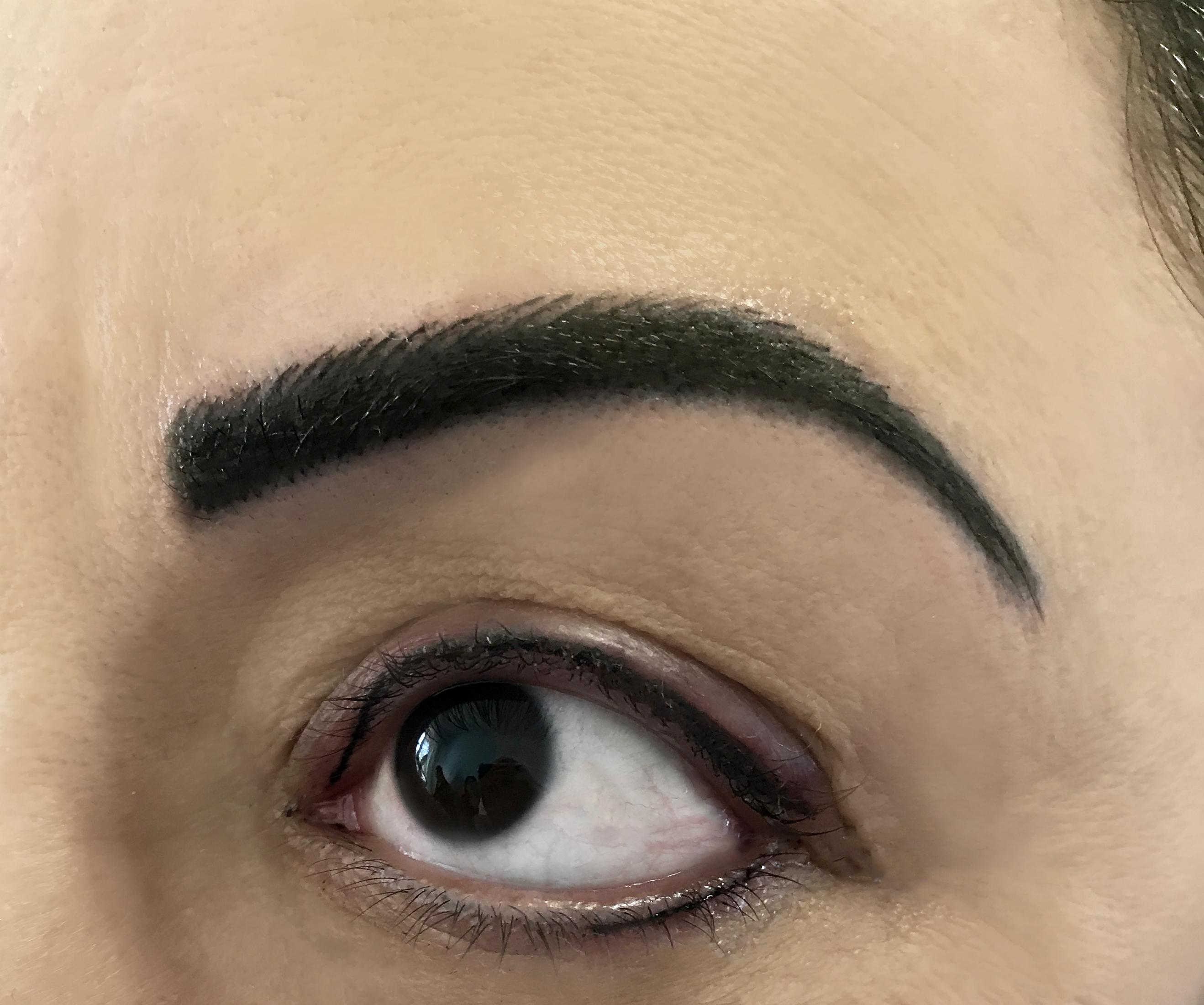 Permanent Make Up Augenbrauen Härchenzeichnung im Studio Dortmund. Rita Dib, ausgebildete Beauty Lin