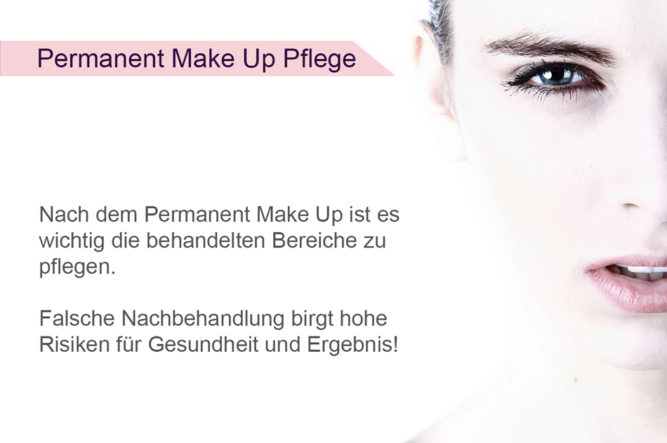 Permanent Make Up Pflege Anleitung Permanent Make Up Gerät