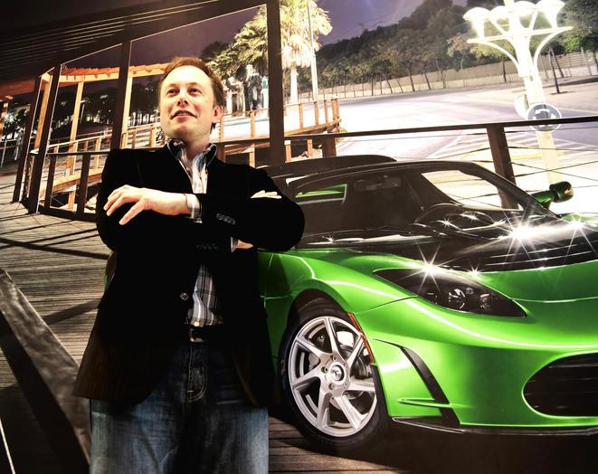 Elon Musk Ceo of Tesla Motors. Commissioned by Tesla Motors