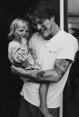 """""""... just two years later my relationship with his mother ended and becoming a single father was, paradoxically, my salvation, I decided to be a good dad first and foremost, living a life filled with hate just wasn't possible if I wanted to do that. """""""