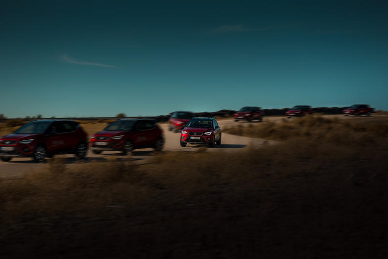 Commercial shooting of Seat Arona. Commisioned by SEAT ESPAÑA