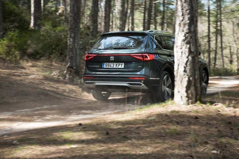 Commercial shooting of Seat Tarraco. Commisioned by SEAT ESPAÑA