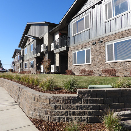 RIDGEVIEW HEIGHTS APARTMENTS RETAINING WALL