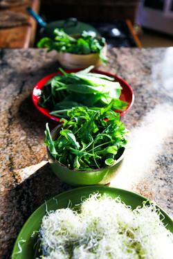 Herbs & greens