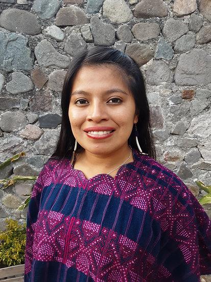 Huipil de Nahualá - Rosa
