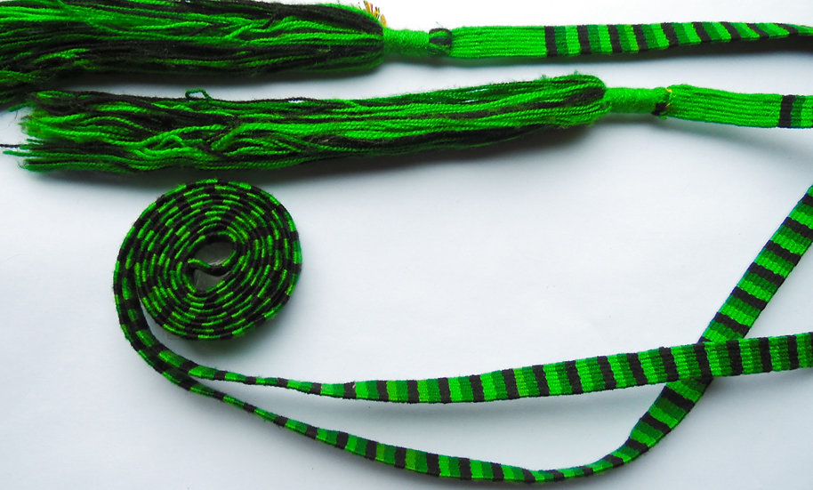 Cinta Sn Antonio - Cruzada verde