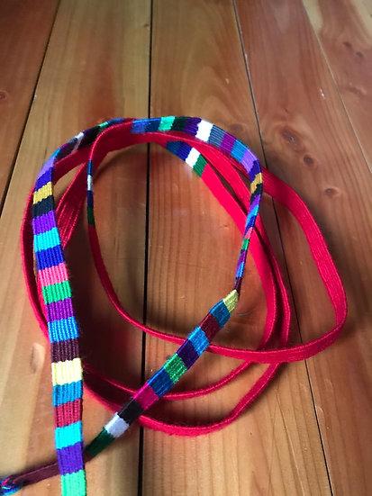Cinta Sn Antonio - roja arcoiris