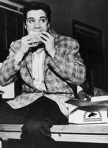Elvis mange une piadina Reservoir Dogs Food