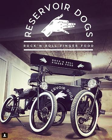 Food Bikes Reservoir Dogs Food Bordeaux