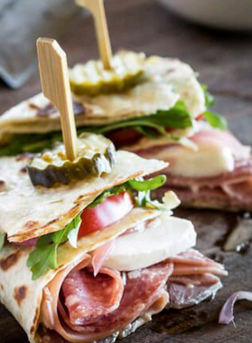 Amuses bouches piadinas Reservoir Dogs Food