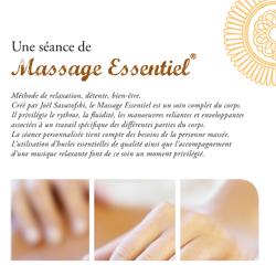Chèque cadeau Massage bien-être