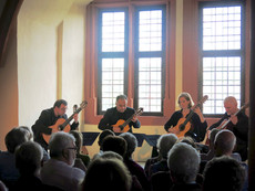 Take 4 guitar quartet - Weilburger Schlo