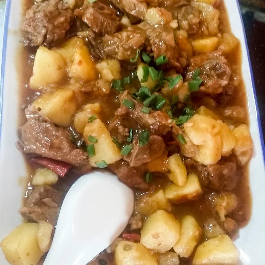 20170421 Chinese food 5 yak and potato