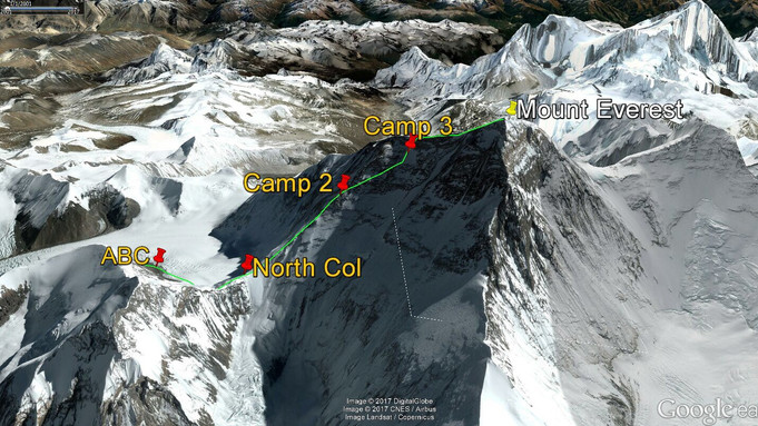 Everest Northside: Rope Fixing Update
