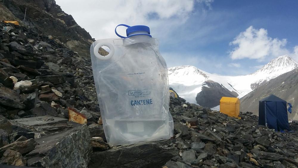 The summit of Mount Pee Bottle