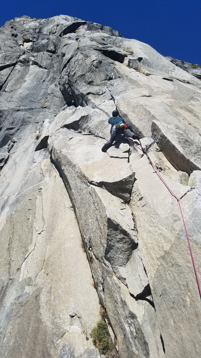 On rock climbing and failure: Why do we do this?