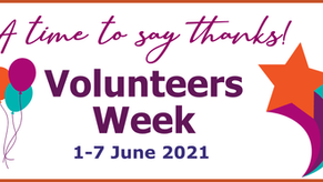 A time to say thanks to Volunteers