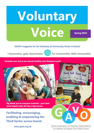 Voluntary Voice Spring 2019 Cover