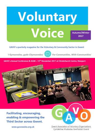 Voluntary Voice - Autum-Winter 2017 Cover