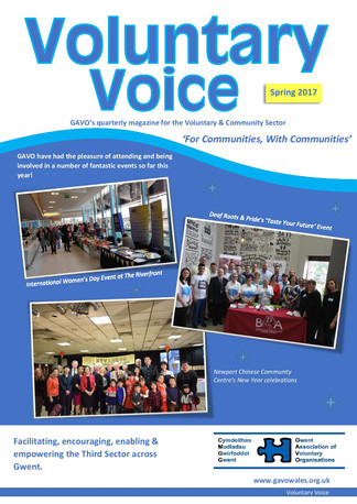 Voluntary Voice - Spring 2017 Cover