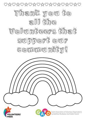 Help Us Show Appreciation to Volunteers in Gwent!