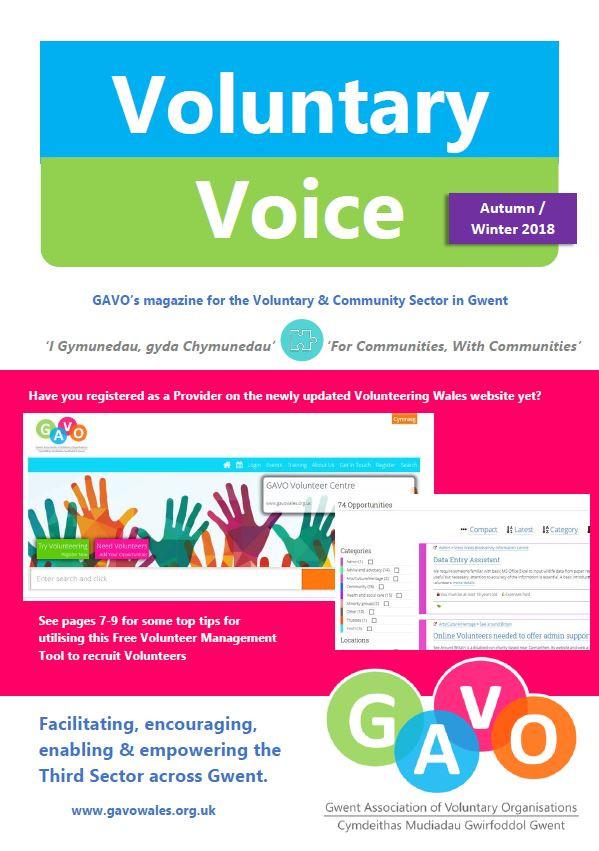 Voluntary Voice Autumn Winter 2018 Cover