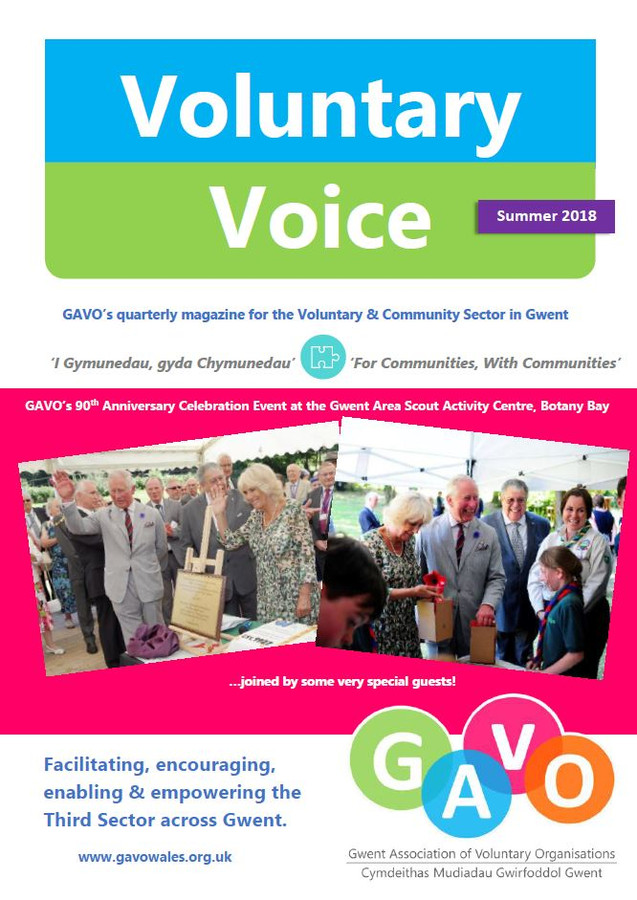 Voluntary Voice Summer 2018 Cover