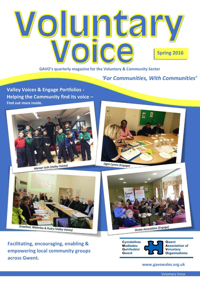 Voluntary Voice - Spring 2016 Cover