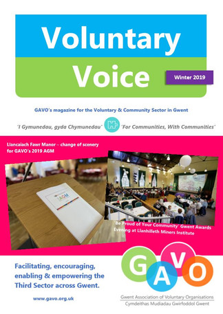 Voluntary Voice Winter 2019 Cover