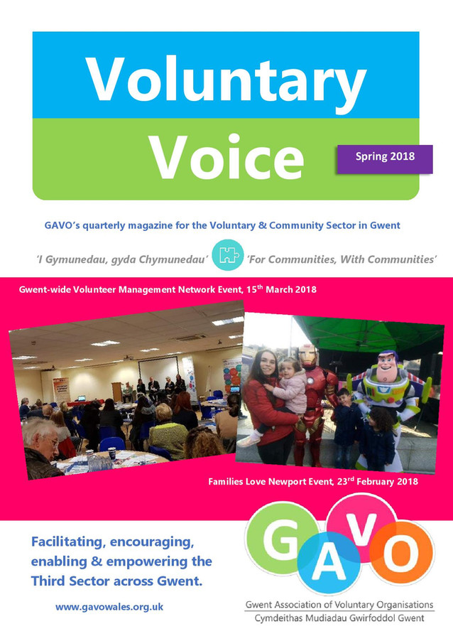 Voluntary Voice - Spring 2018 Cover