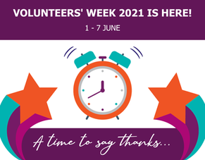 Volunteers' Week 2021 is here!