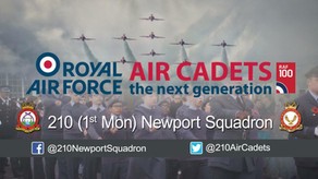 GAVO Cash 4 U Grant - 210 Squadron RAF Air Cadets get kitted out