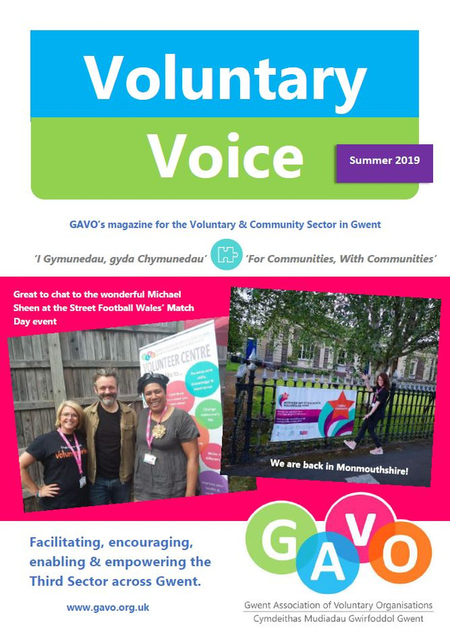 Voluntary Voice Summer 2019 Cover