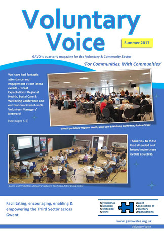 Voluntary Voice - Summer 2017 Cover