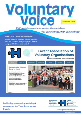 Voluntary Voice - Summer 2016 Cover
