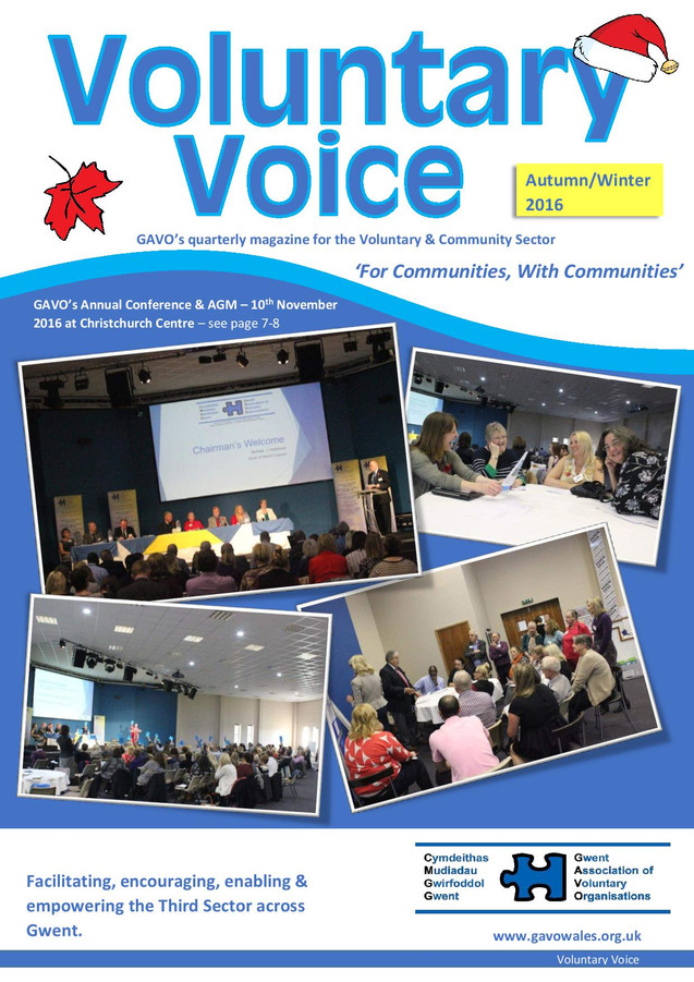 Voluntary Voice - Autumn-Winter 2016 Cover