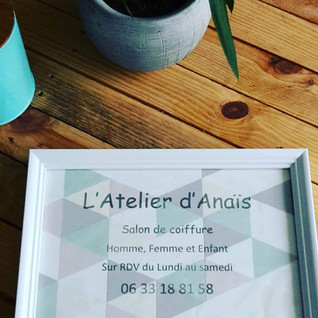 Inauguration de l'Atelier d'Anais (salon de coiffure)