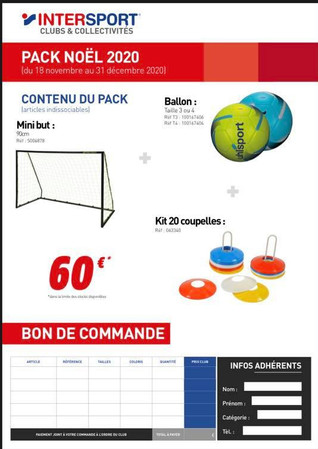 Promo Noel Intersport
