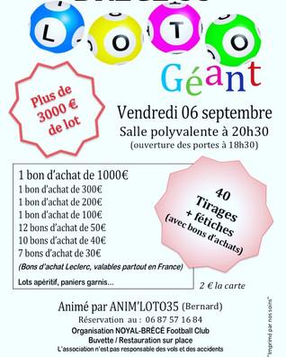 Loto NBFC 06 Septembre