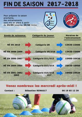 Préparation saison 2018-2019