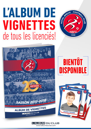 Couverture Album du Club 2017-2018