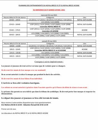 Programme S22