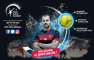 Stages de Beach Soccer Pagis Beach Academy