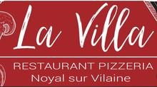 Tour des partenaires : Pizzeria la Villa